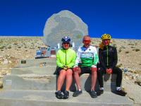 The Riders Mont Ventoux Immortalised