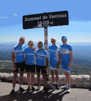 The Ventoux Challenge Rides in August 2018(Date 04th-11th August)