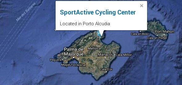 Sportactive Cycling Center in Mallorca
